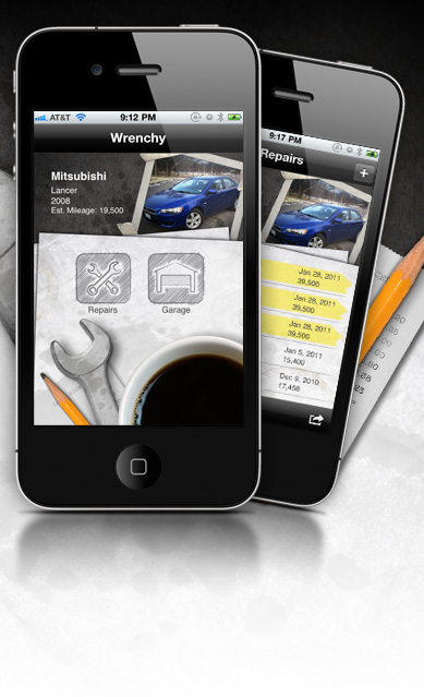 wrenchy, iphone application for car repair